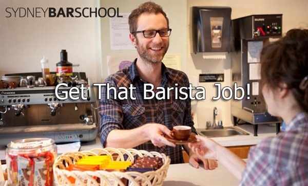 Get That Barista Job!
