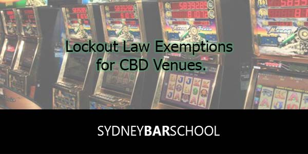 Lockout Law Exemptions Granted in Sydney CBD